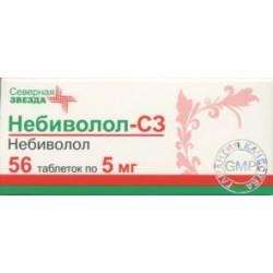 Небиволол-СЗ, табл. 5 мг №56